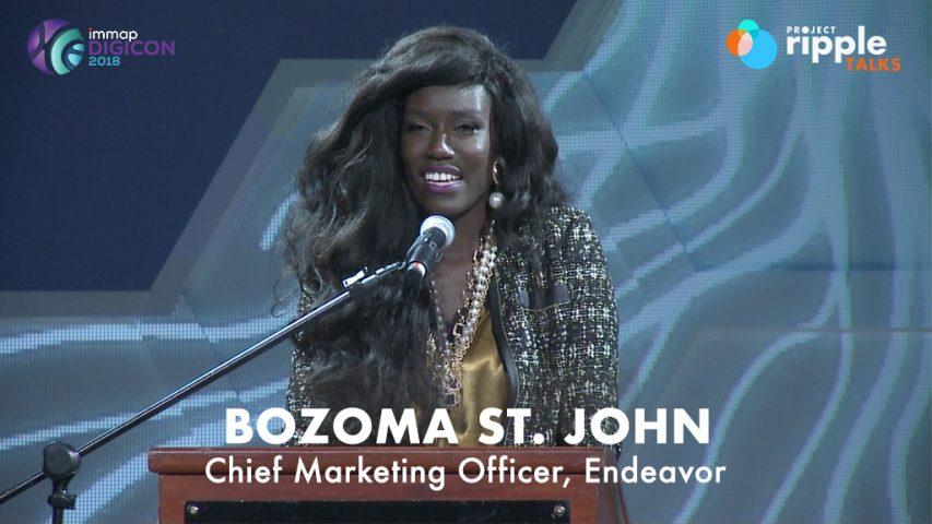 Project Ripple Talks - BOZOMA ST JOHN